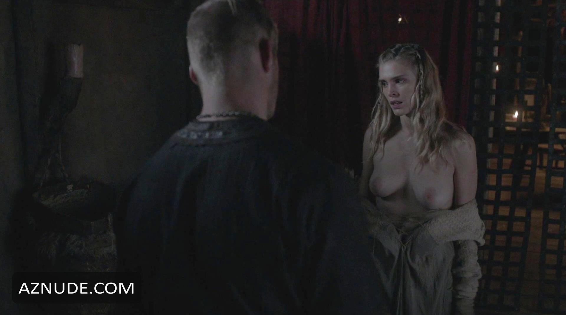 Dagny backer nude sex scene vikings on scandalplanetcom