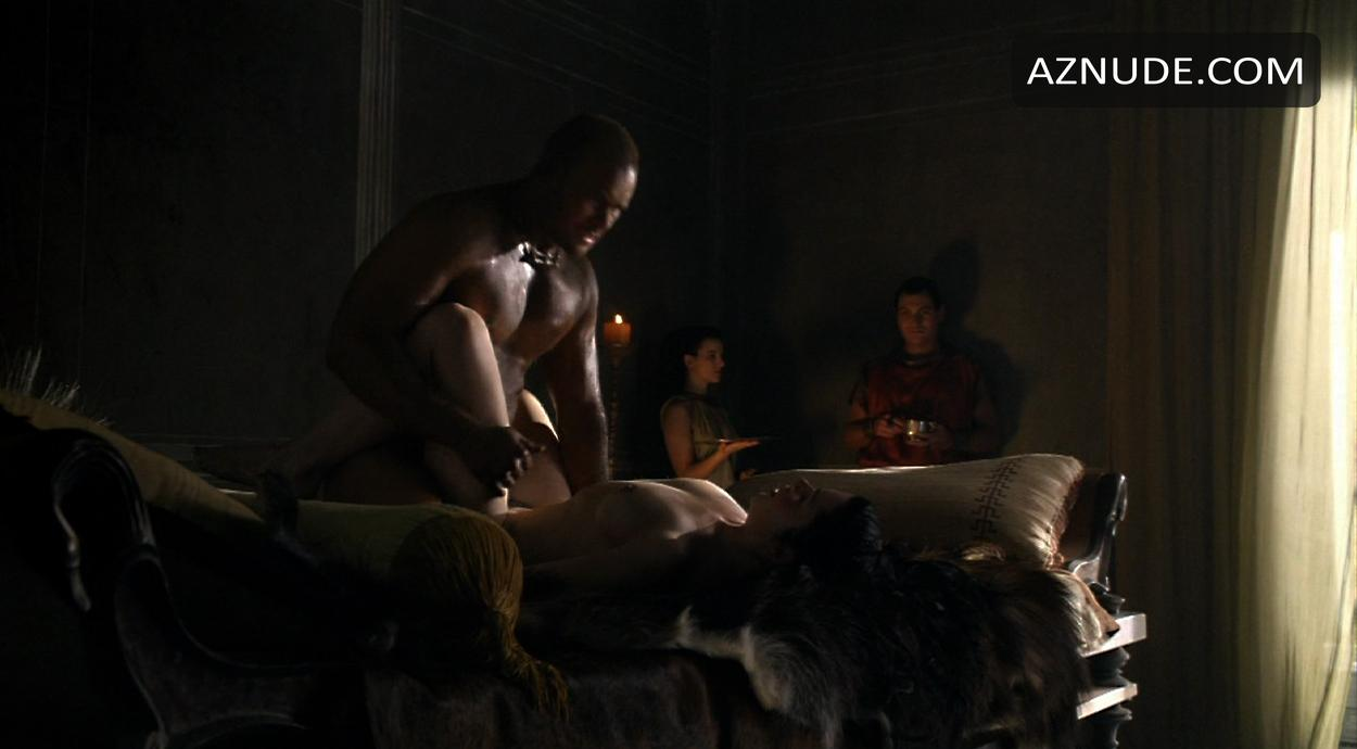 Jaime murray spartacus nude slomo - 2 4