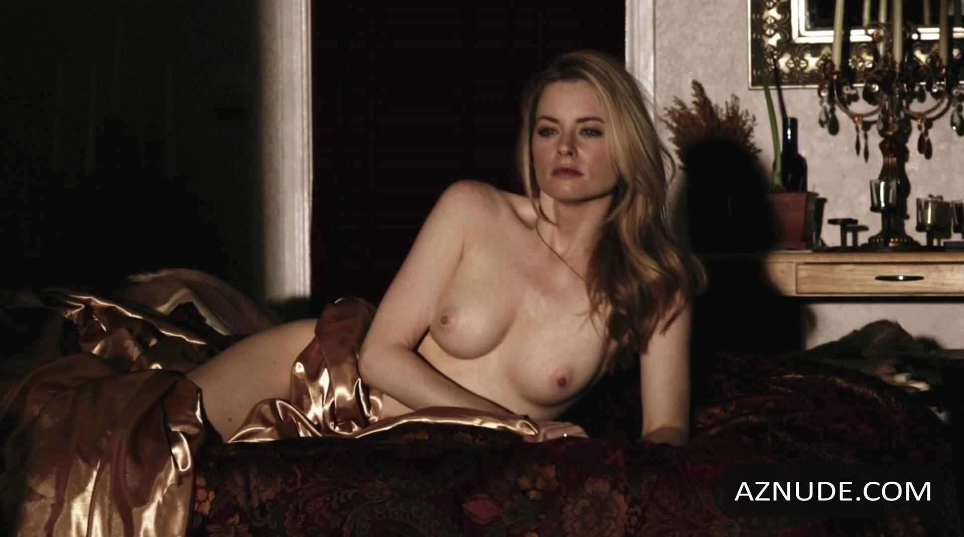 Blonde bikini model nude