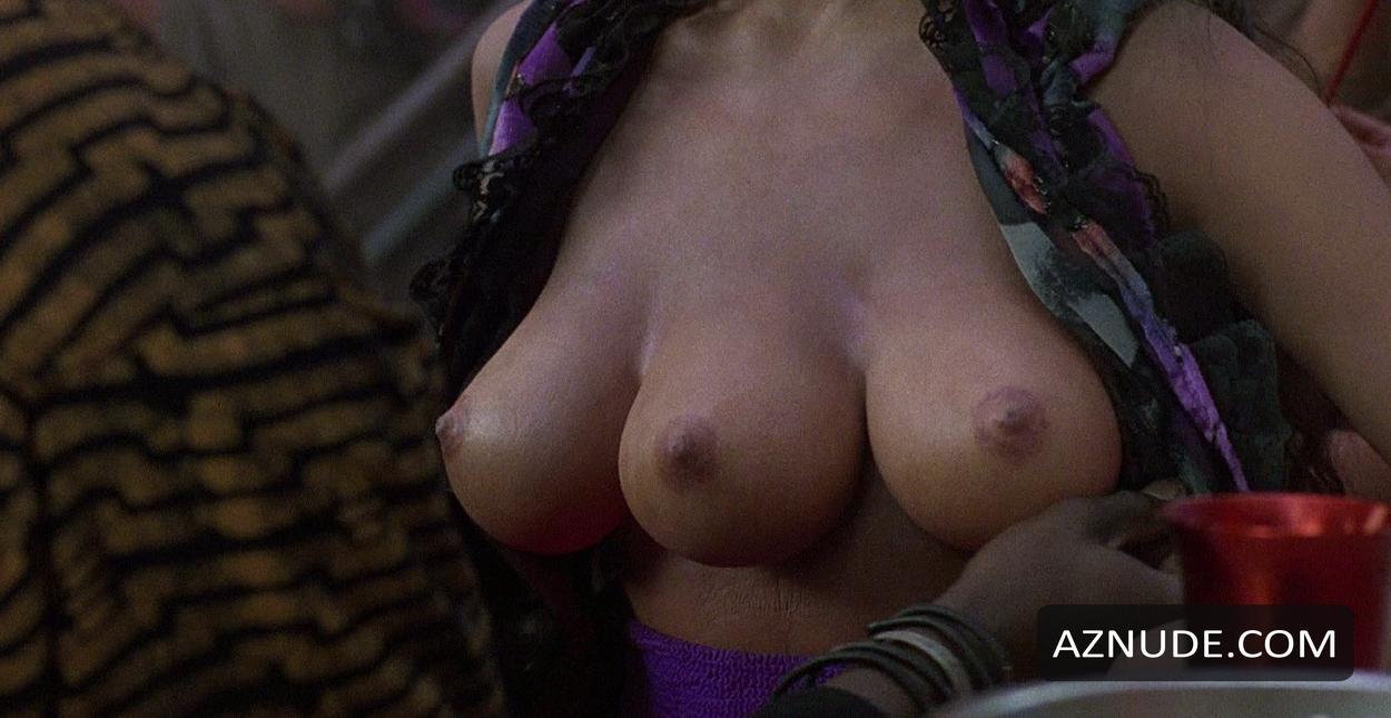 Woman with three boob