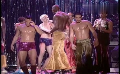 MADONNA in Madonna: The Girlie Show