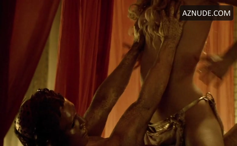 Viva Bianca Breasts, Bush Scene in Spartacus - AZNude