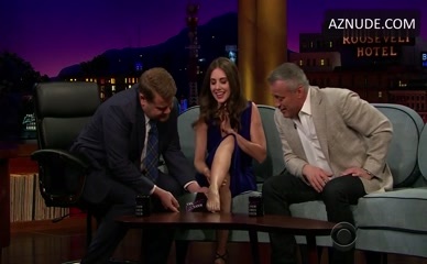 ALISON BRIE in The Late Late Show With James Corden