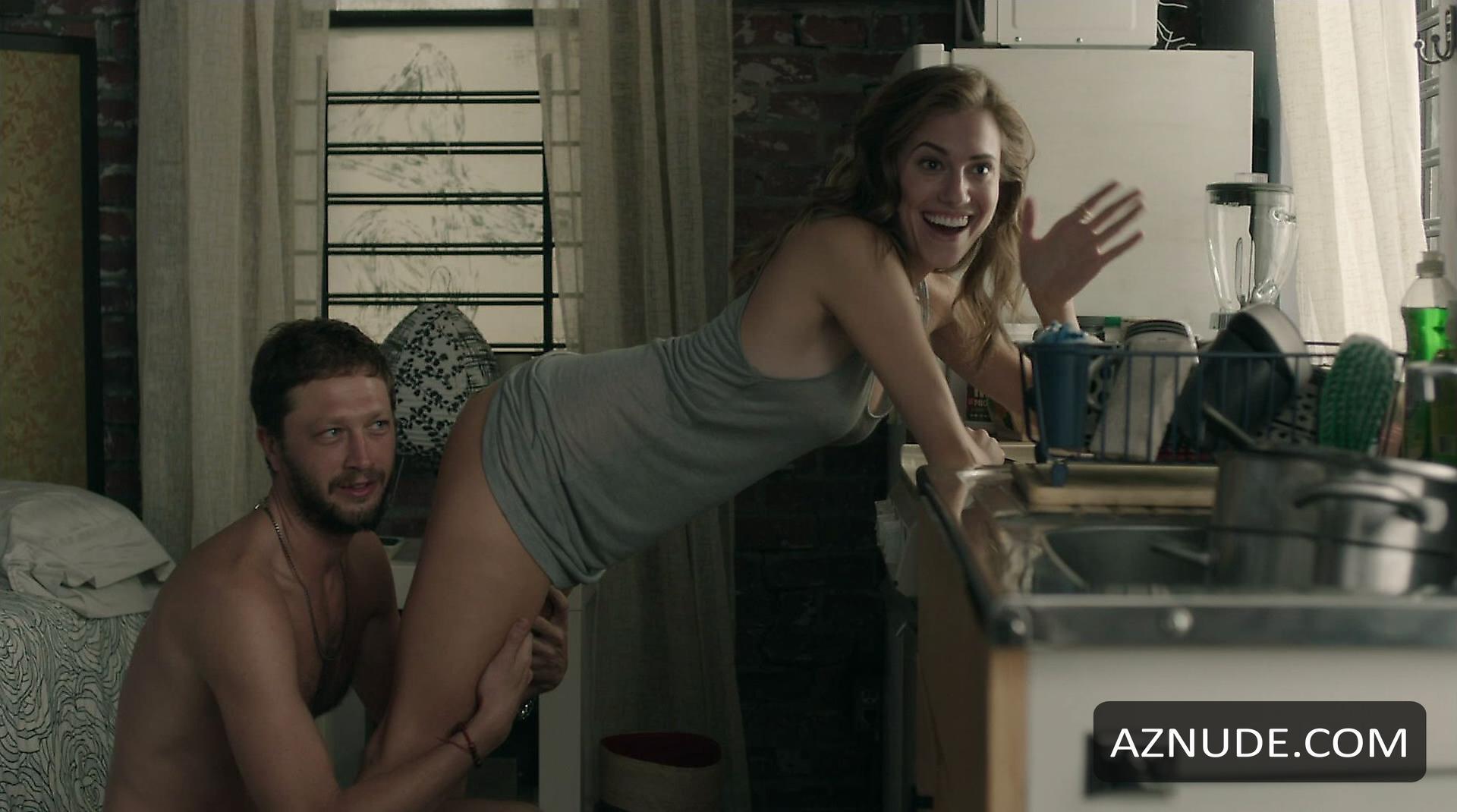 Allison Williams Butt Scene In Girls