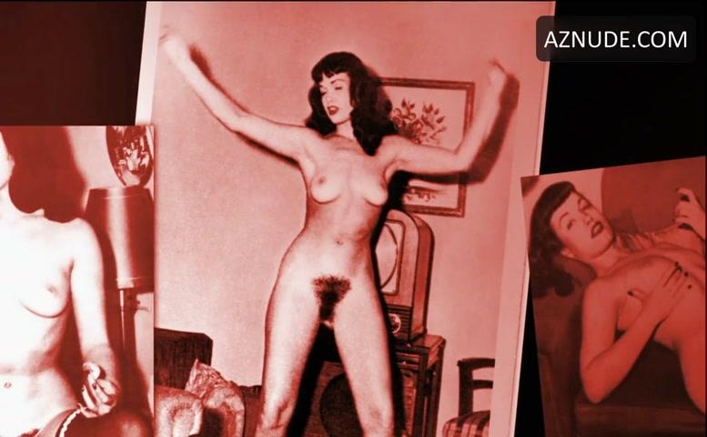 Bondage nude betty page