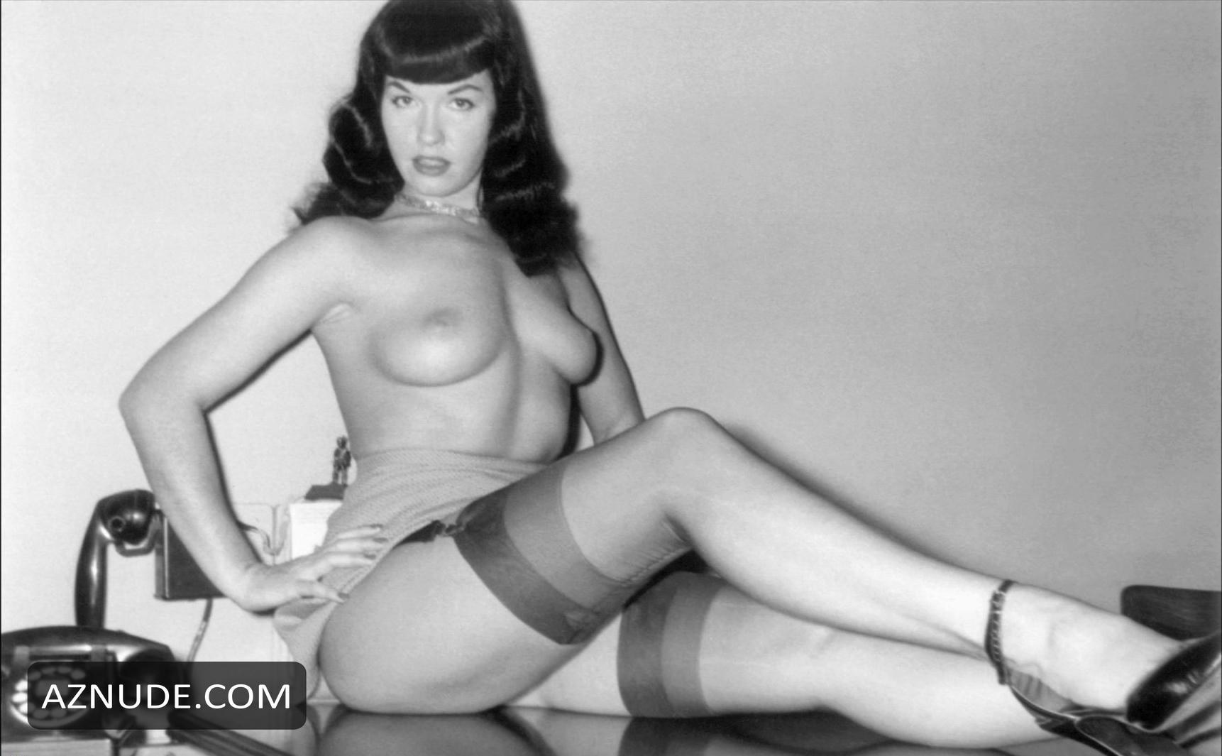from Anderson nude pictures of bettie page