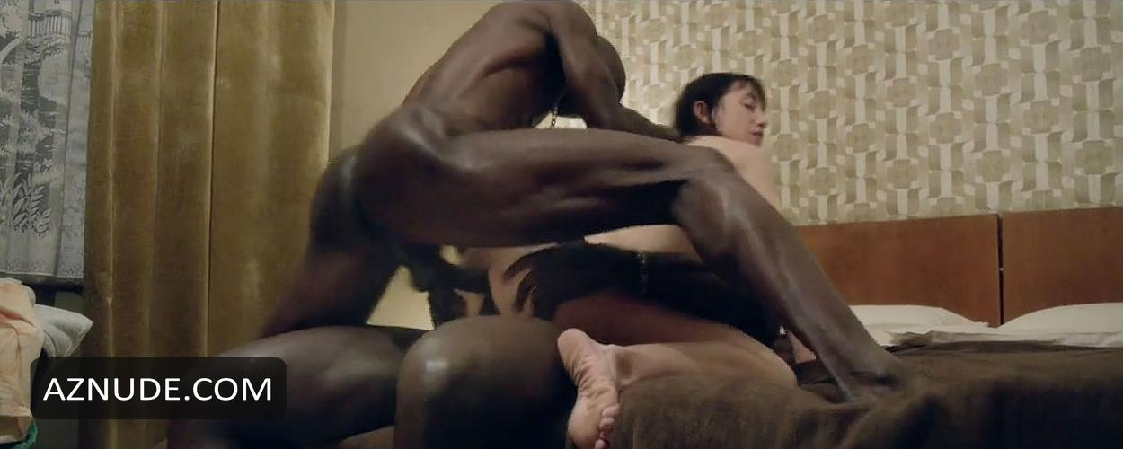 image White wifey fucked by multiple black men at porn theater Part 8