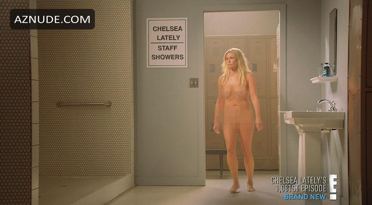 Chelsea Star Strips Naked