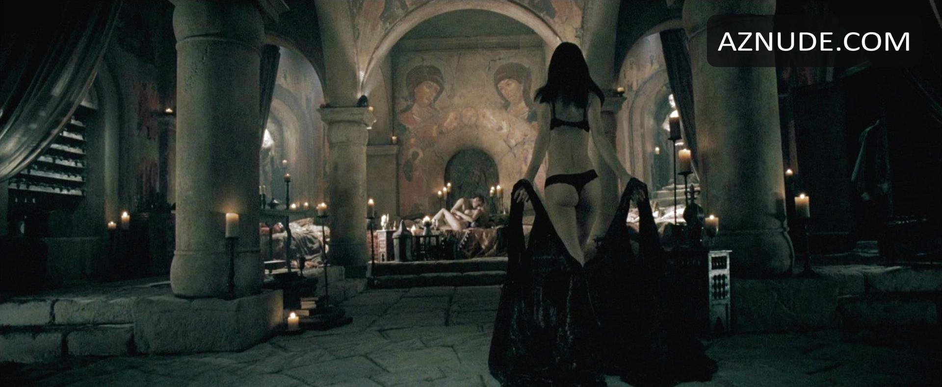 Kaja Gjesdal Breasts Scene In Underworld