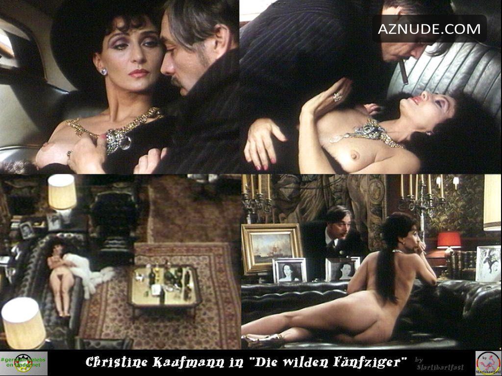 Christine Kaufmann  nackt
