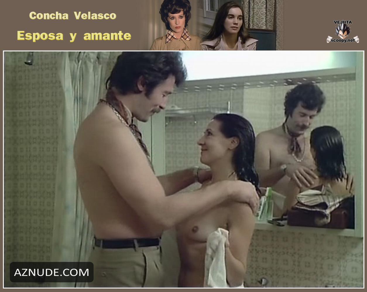 Concha Velasco  nackt