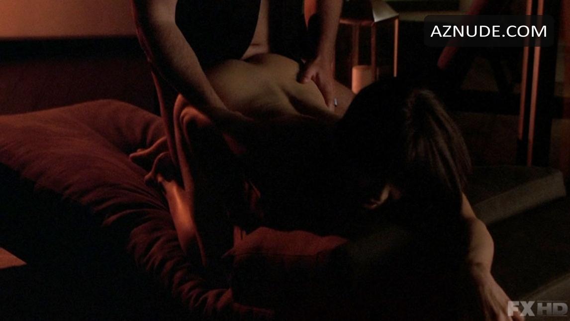 Naked amber strauser in niptuck ancensored