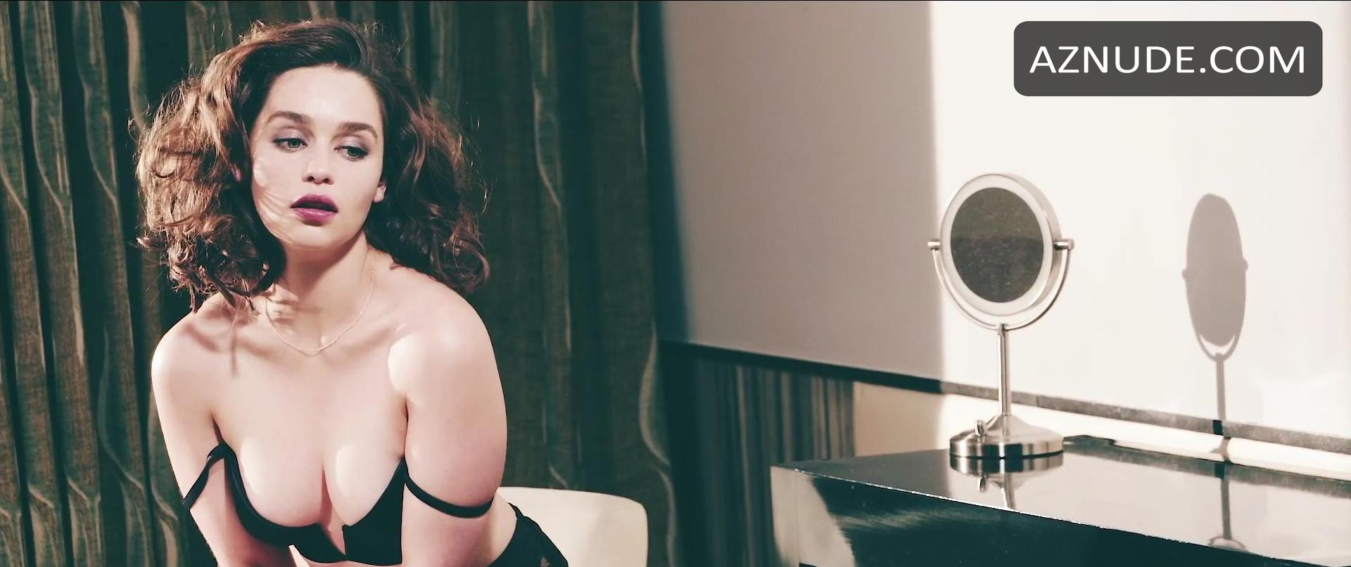 Emilia Clarke Esquire Photo Shoot Nude Scenes - Aznude-3873