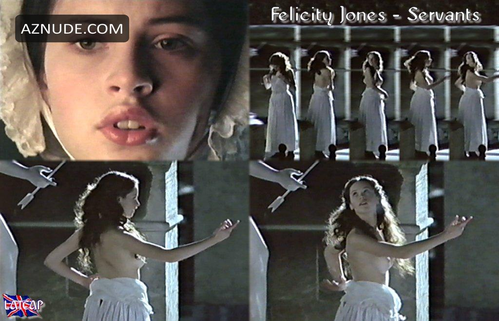 Felicity jones nude scene