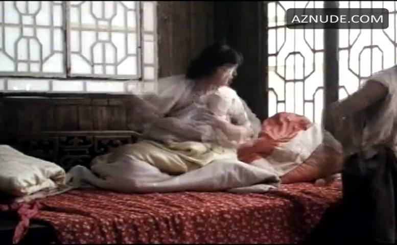 Gong Li Sexy Scene In Ju Dou - Aznude-5701