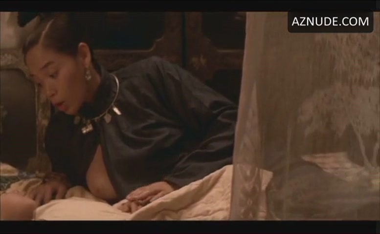 Jade Go Breasts Scene In The Last Emperor - Aznude-2679