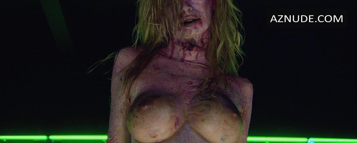 Zombie movie with nude dancing girl something