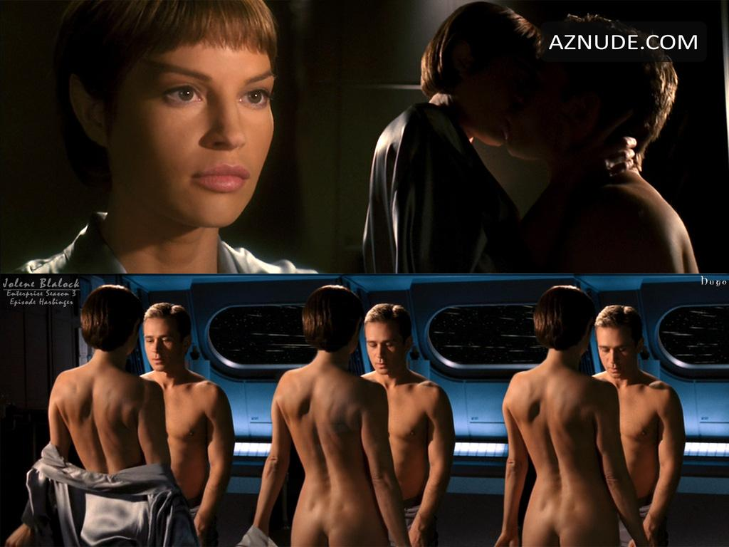 Jolene Blalock desnuda en Star Trek: Enterprise