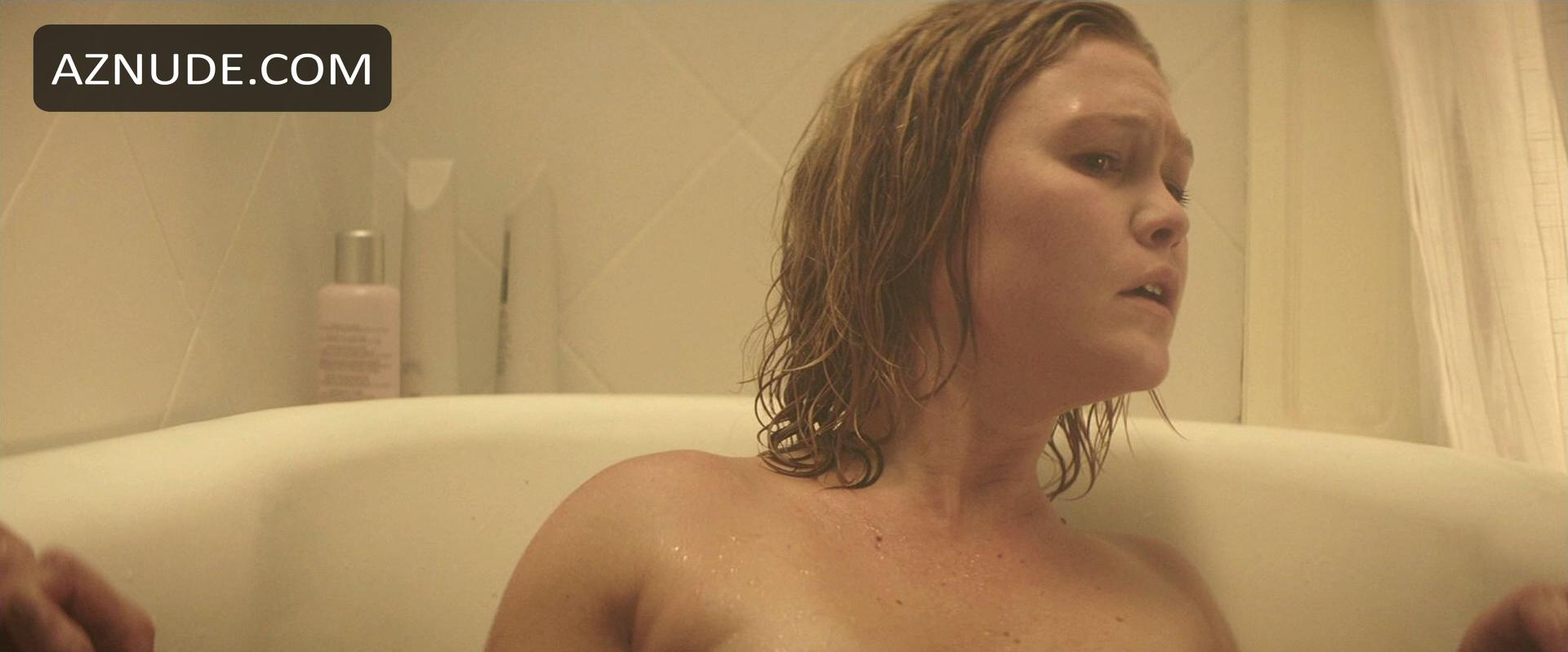 Julia stile nude shower