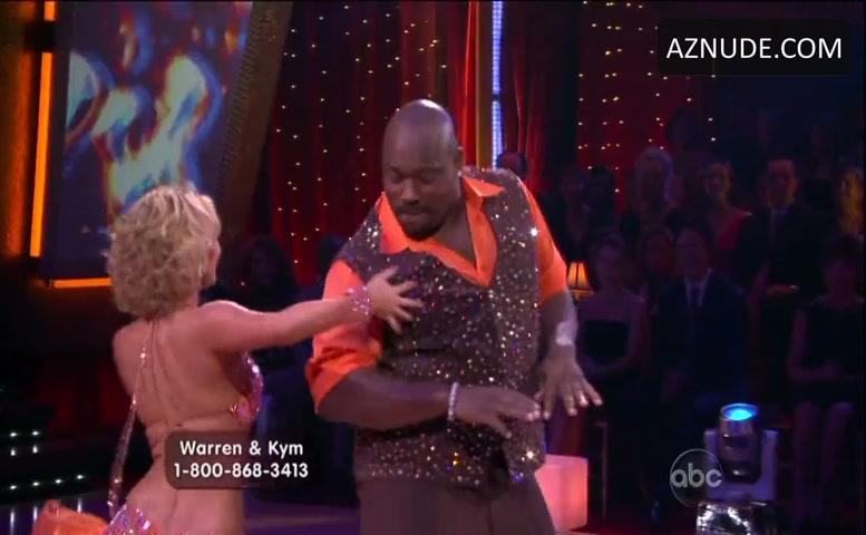 Kym Johnson Sexy Scene in Dancing With The Stars - AZNude