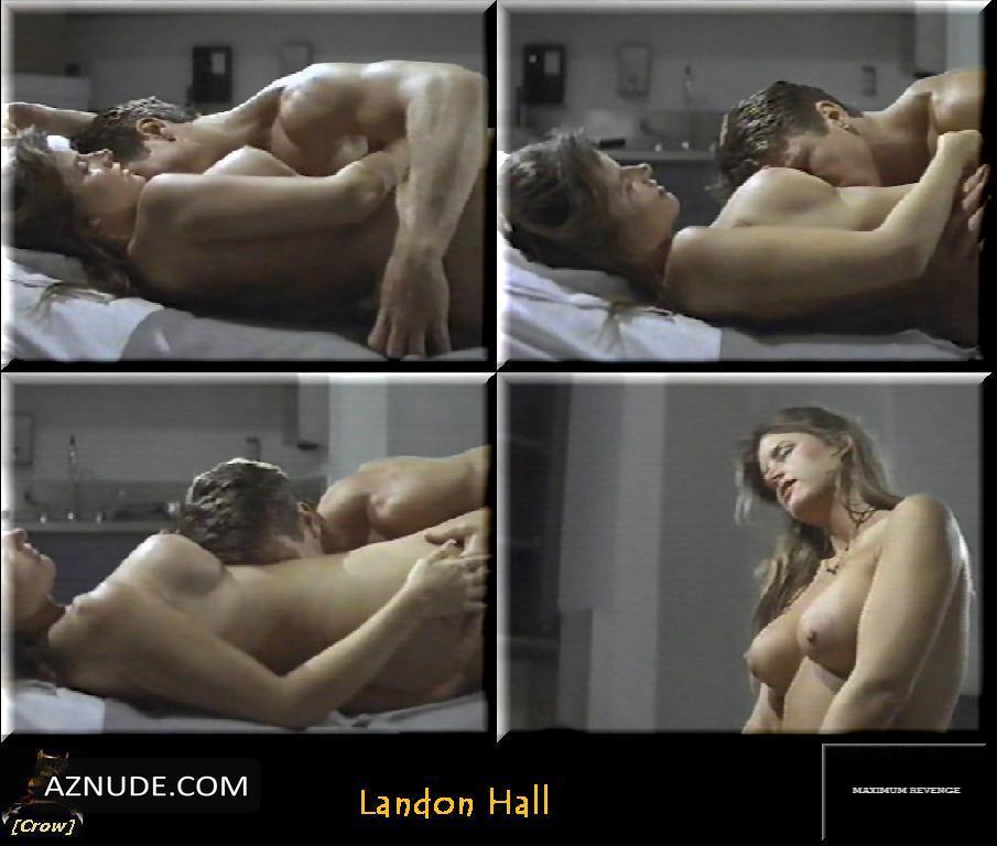 nude pics of landon hall