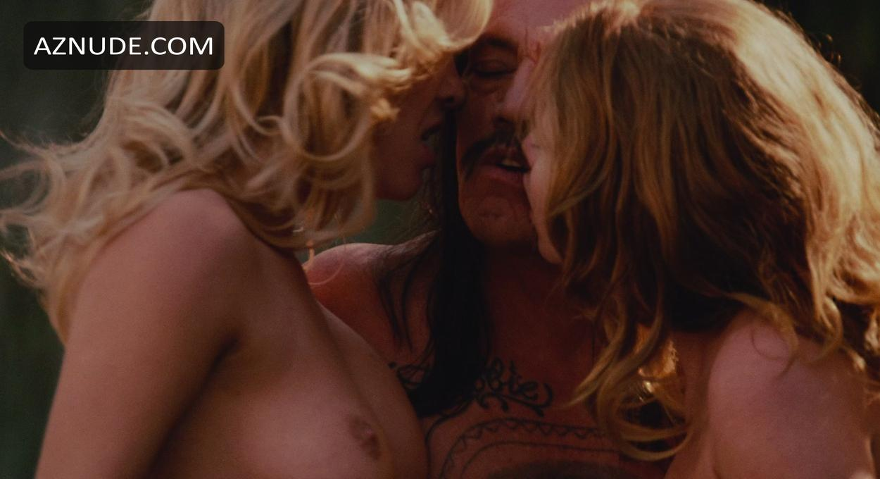Lohan nude clip from machete