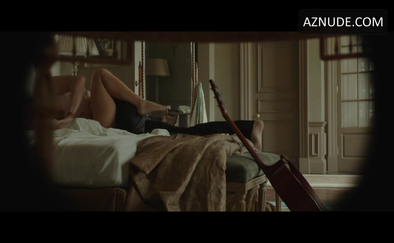 Melanie Laurent Breasts Underwear Scene In By The Sea Aznude