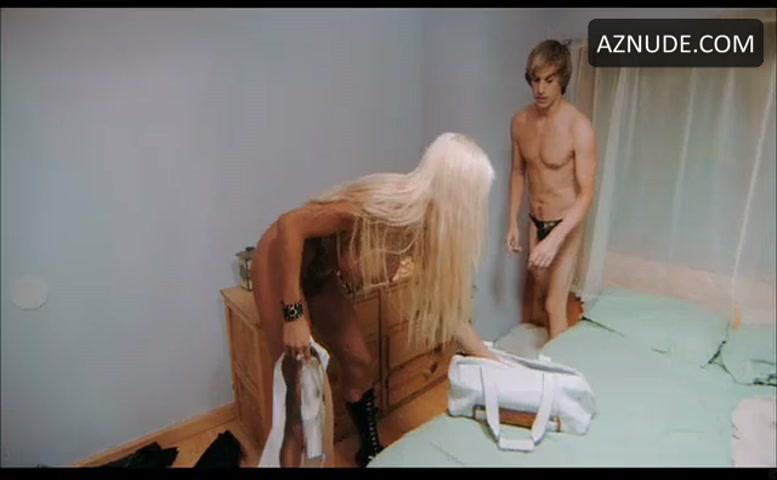 Michelle Mclaren Breasts, Bush Scene In Bruno - Aznude-9903