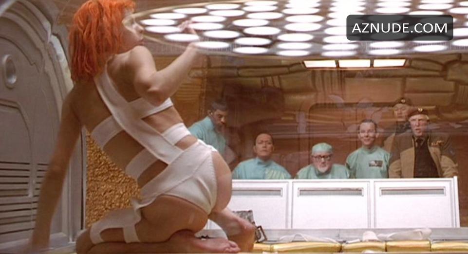 jovovich nude scene fifth element Milla