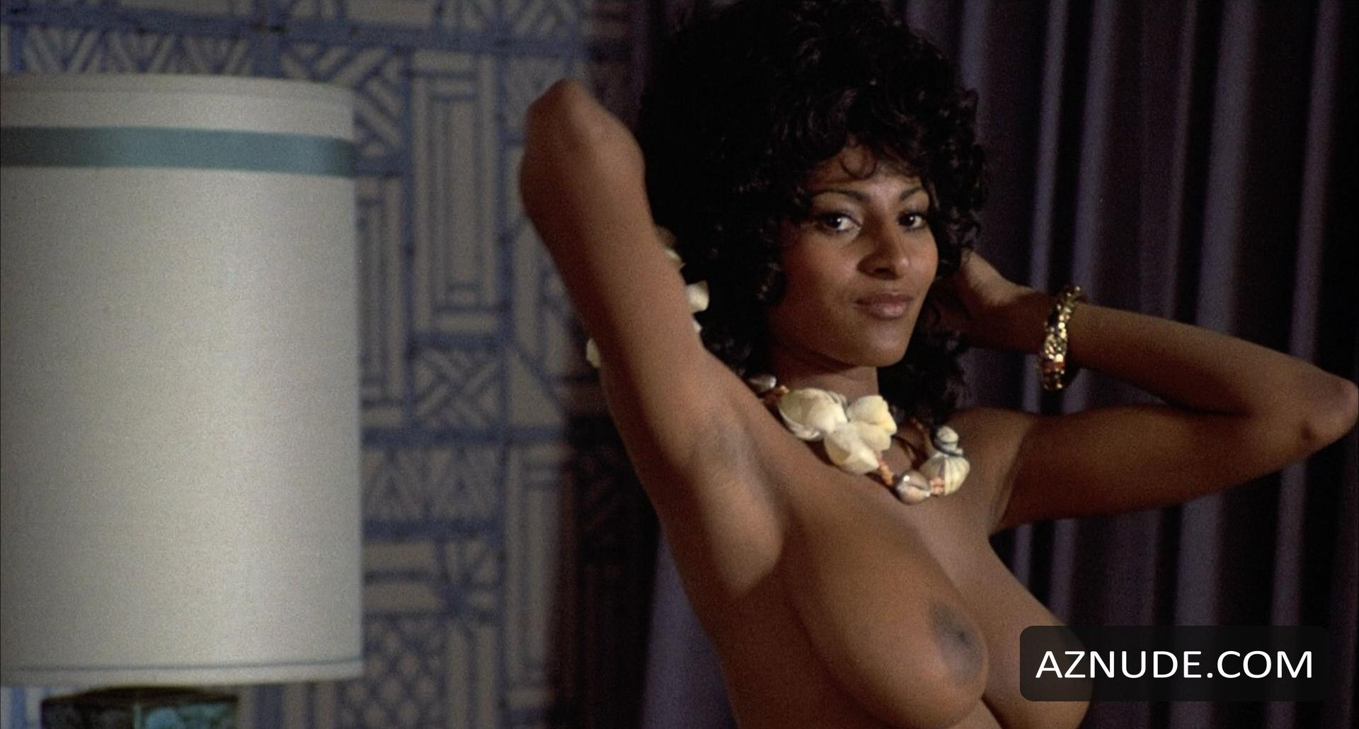 Pam Grier Breasts, Butt Scene in Coffy - AZNude