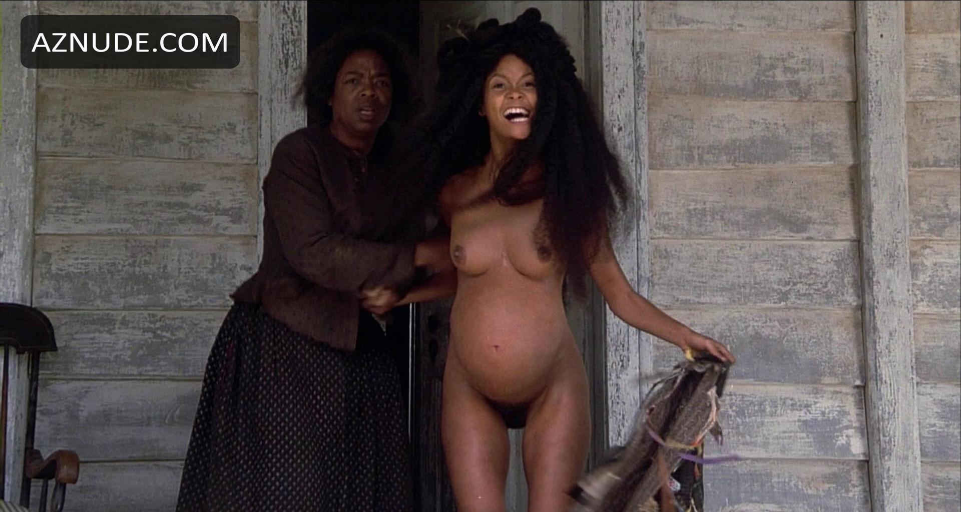 Thandie newton rubbing her bush in beloved scandalplanet