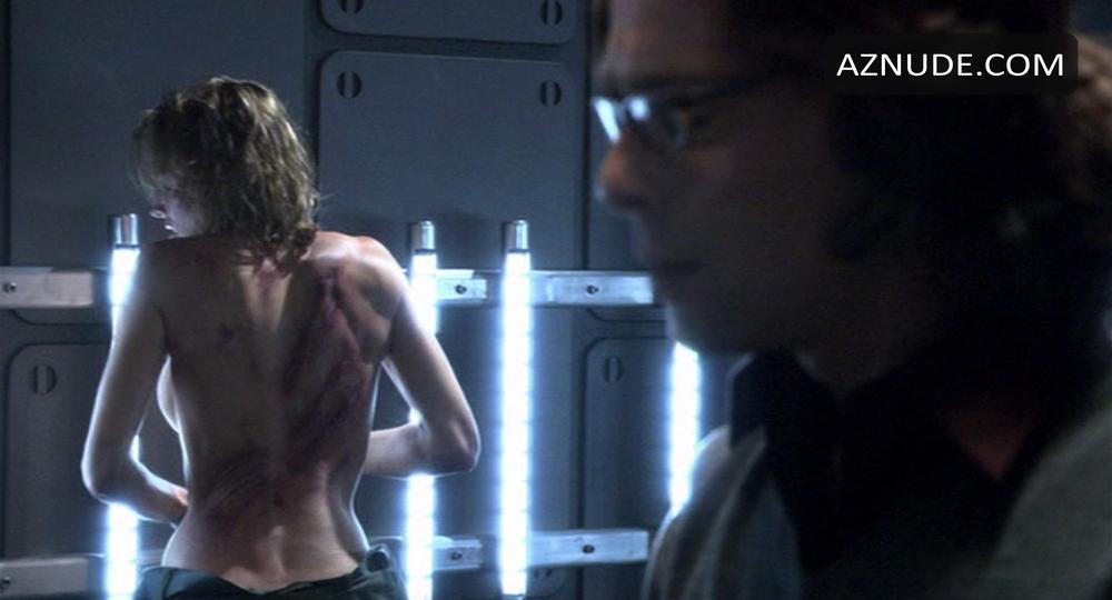 Tricia helfer nude in battlestar galactica scandalplanet