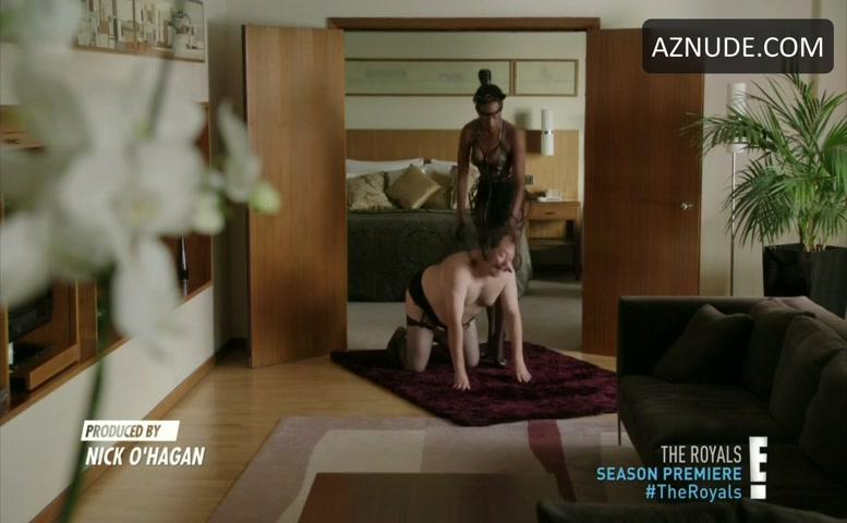 Victoria Ekanoye Underwear Scene In The Royals - Aznude-5911