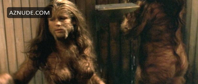 Werewolf and nude girl gang