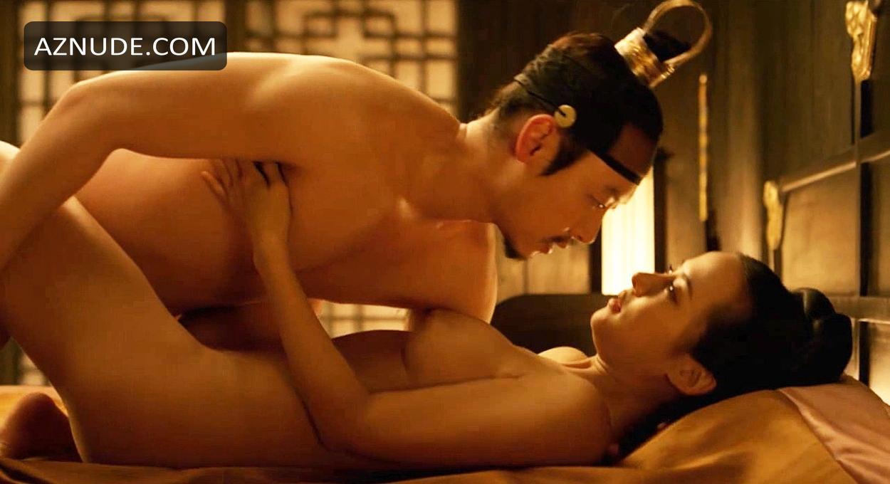 The concubine sex scene